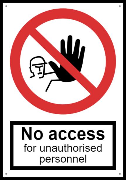 construction signsthatAluminum sign